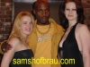 DMX in the house! Hanging out with Sam's girls Kelly (L) Diamond (R)