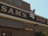 External Sam's sign